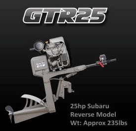 Gator-Tail 25GTR Outboard Mud Motor