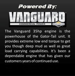 Gator-Tail 35GTR 35GT Vanguard Engine