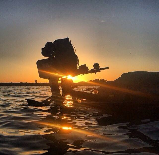 Gator-Tail Outboards Mud Motors Sunset
