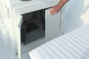 Nautic Star Boats 1810 Bay Console Storage